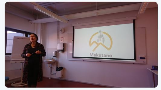 Irmeli Mustalahti launching the new Makutano (